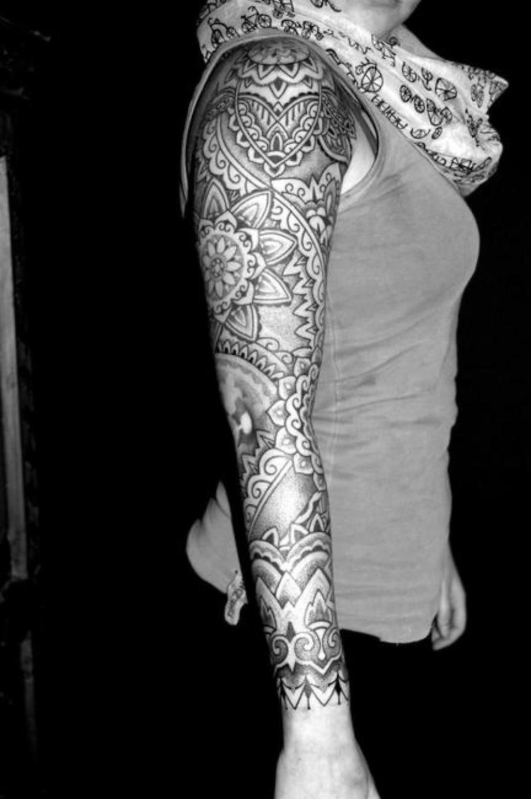 b1d481b74d5f4 Arm tattoo frau mandala. 35 Spiritual Mandala Tattoo Designs. 2019-05-06