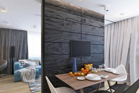 Maisons Décoration » rideau separation cuisine salon | Maisons ...