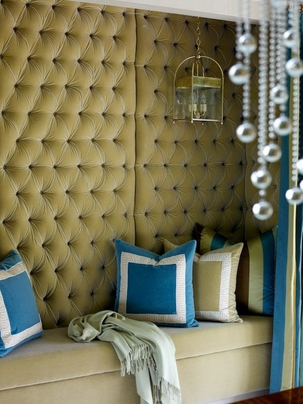 Tufted Wall Panels Ideas Elegance And Glamor In The Interior