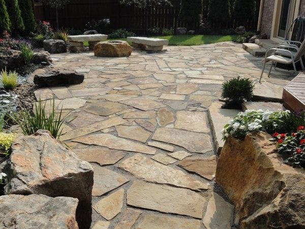 Outdoor Patio Rocks