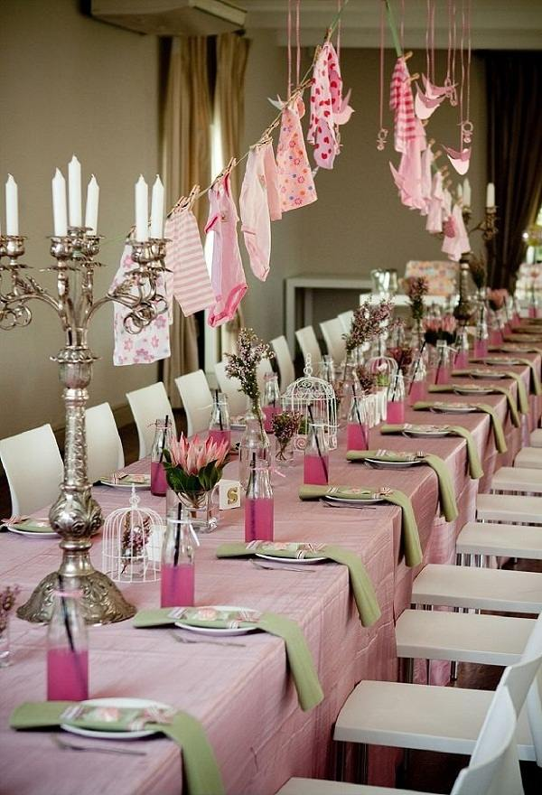 Table Decoration Ideas Baby Shower