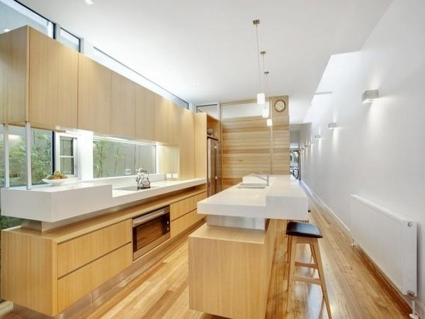 Long Galley Kitchen Designs