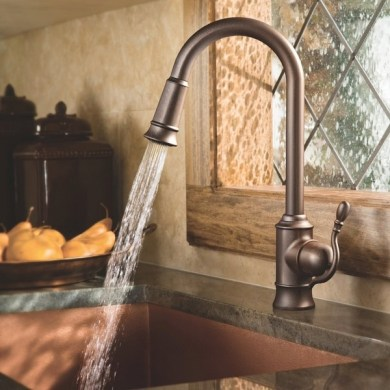 Moen faucets     kitchen faucets designed for a true chef s kitchen