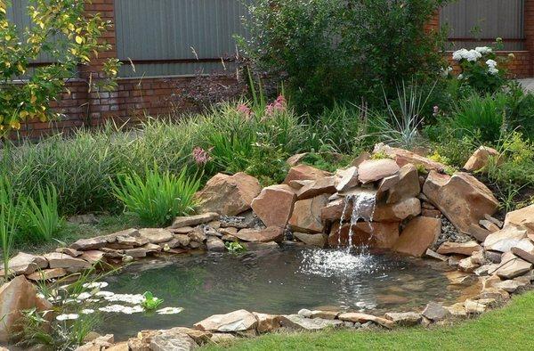 Making Backyard Pond