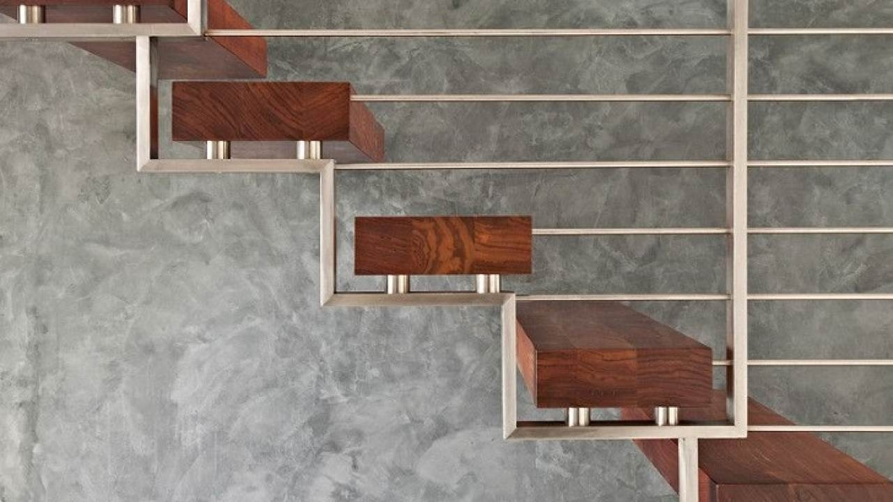Metal Railing Ideas – Exclusive Staircase Designs For Your Home | Contemporary Railings For Interior Stairs | Minimalist | Ultra Modern | Mid Century Modern | Metal | Wood