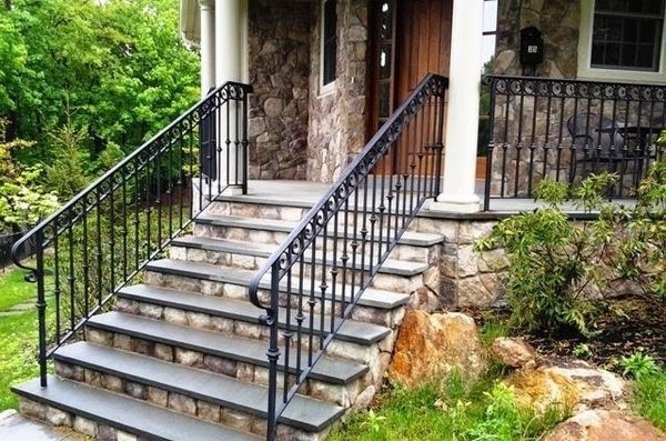 Metal Railing Ideas – Exclusive Staircase Designs For Your Home | Metal Railing Stairs Outdoor | Stair Treads | Aluminum | Railing Ideas | Wrought Iron | Spiral Staircase