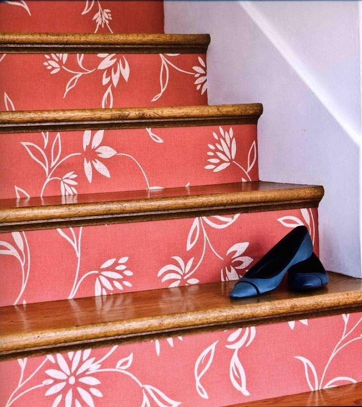 Decorative Stair Risers – Make A Statement With Your Staircase Decor | Painted Risers On Stairs | Flair | Painting | Stained | Basement | Hardwood