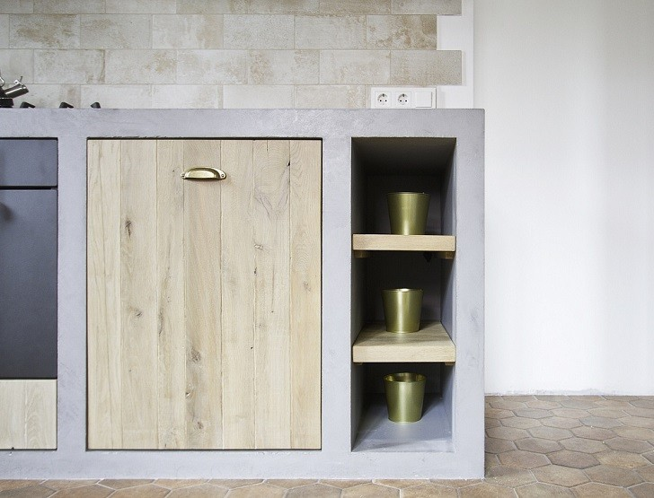 Concrete Kitchen Cabinets Bold And Unusual Ideas In