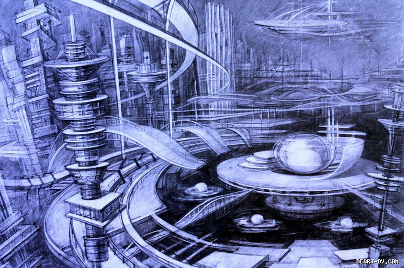 future architecture drawing - 800×531