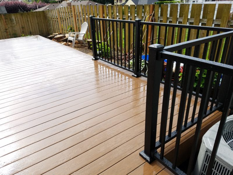 Timbertech Brown Oak Terrain Deck Deck Masters Llc