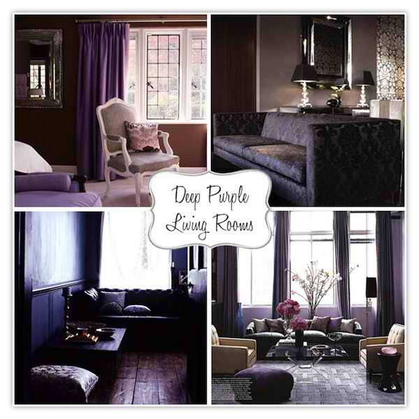 20 Purple Living Rooms Decoholic