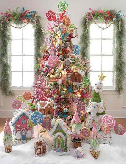 37 Inspiring Christmas Tree Decorating Ideas   Decoholic christmas tree decorating ideas 5