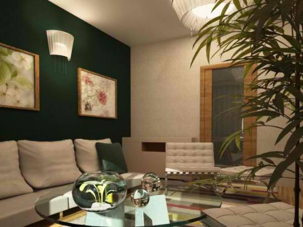 26 Small Inspiring Living Room Designs   Decoholic small green living room design 13