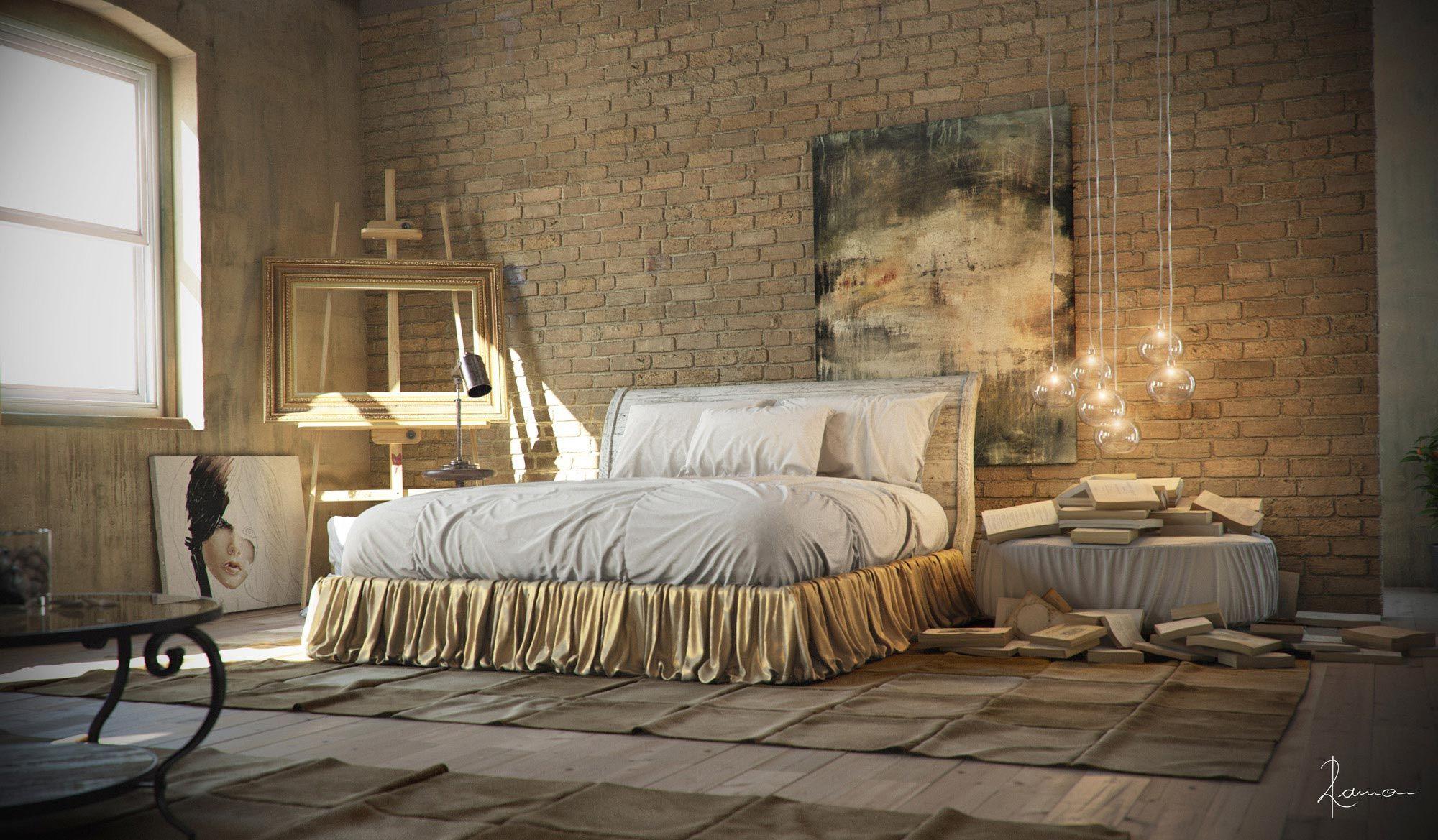 Industrial Loft Apartment Decorating Ideas