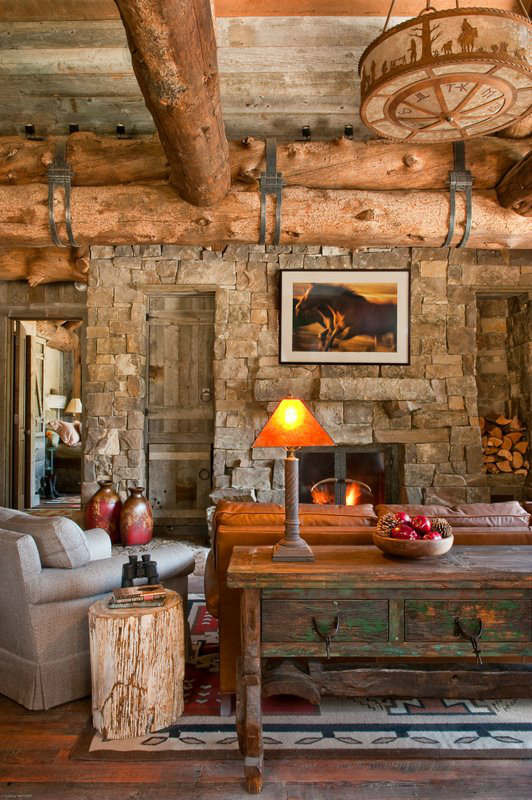 Cabin And Furniture Cottage Rustic