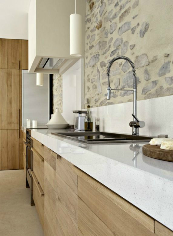 43 Kitchen Design Ideas with Stone Walls   Decoholic     Kitchen Design Ideas with Stone Walls 6