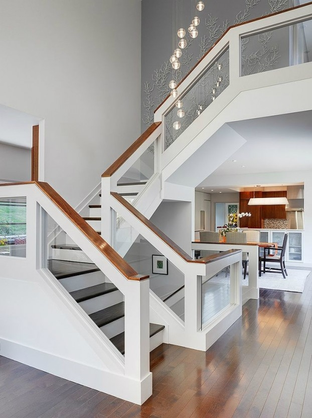 47 Stair Railing Ideas Interior Stair Rails Decoholic   Modern Stair Railings Interior   Brushed Nickel   Outdoor Stair   Wrought Iron   Balcony   Wall Mounted