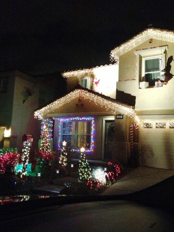 Christmas Lights Decoration Ideas