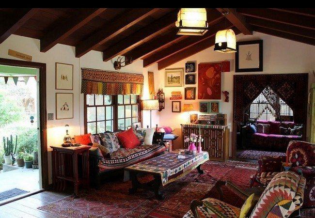 Living Room Design Rustic