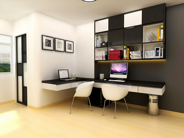 Contemporary Executive Office Interior Design
