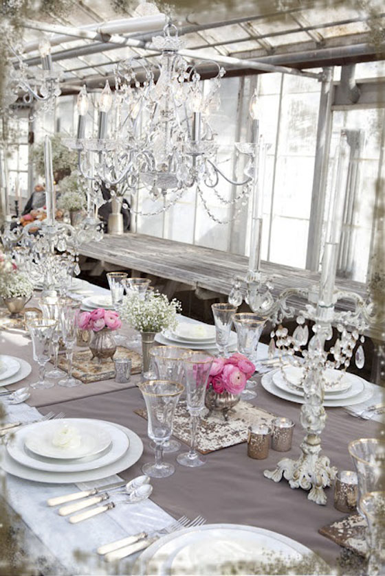 Inside shabby chic and the rustic farmhouse… - Decor ...
