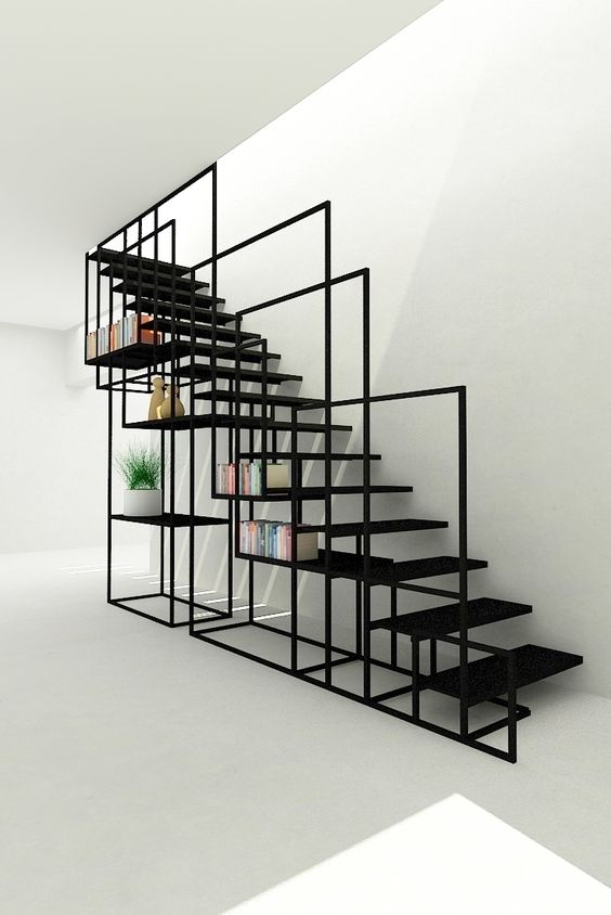 Awesome And Contemporary Indoor Stairs Decor Inspirator | Iron Stairs Design Indoor | Stainless Steel | Stair Treads | Stair Railings | Spiral Stairs | Steel