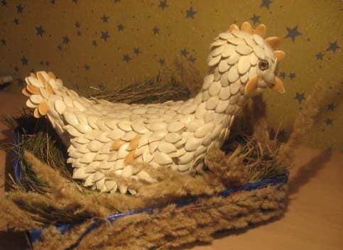 南瓜籽雄鸡