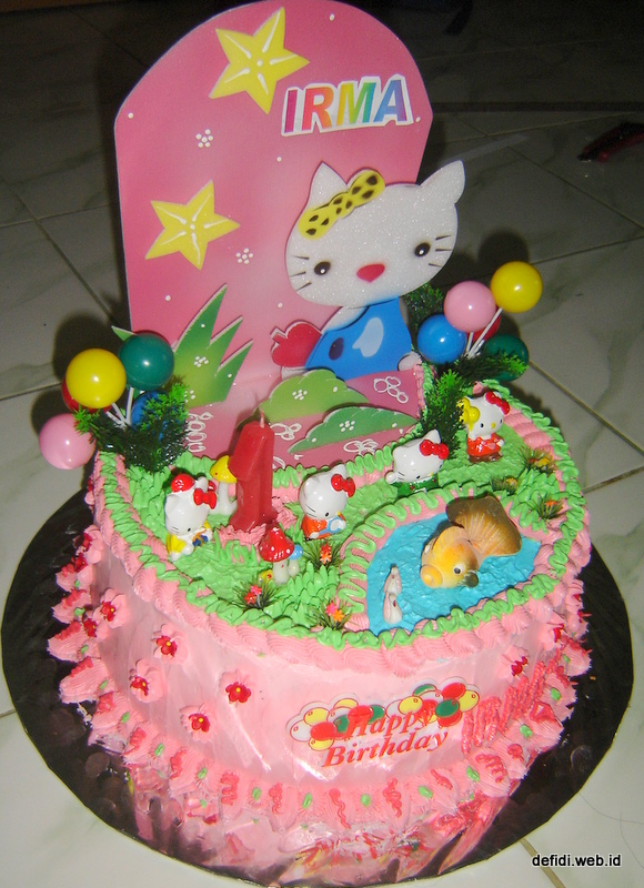 Dekorasi Cake Untuk Pemula Sajian Defidi