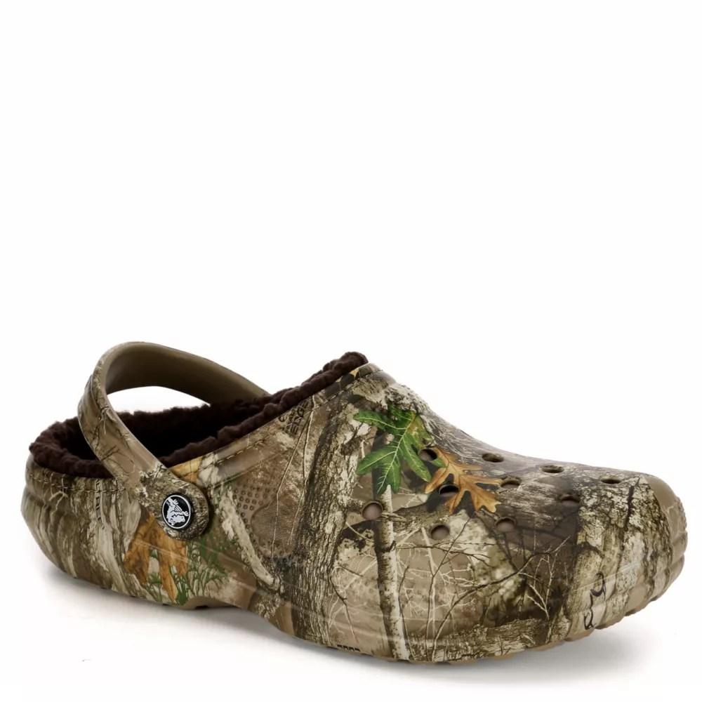 Lined Camo Crocs Men