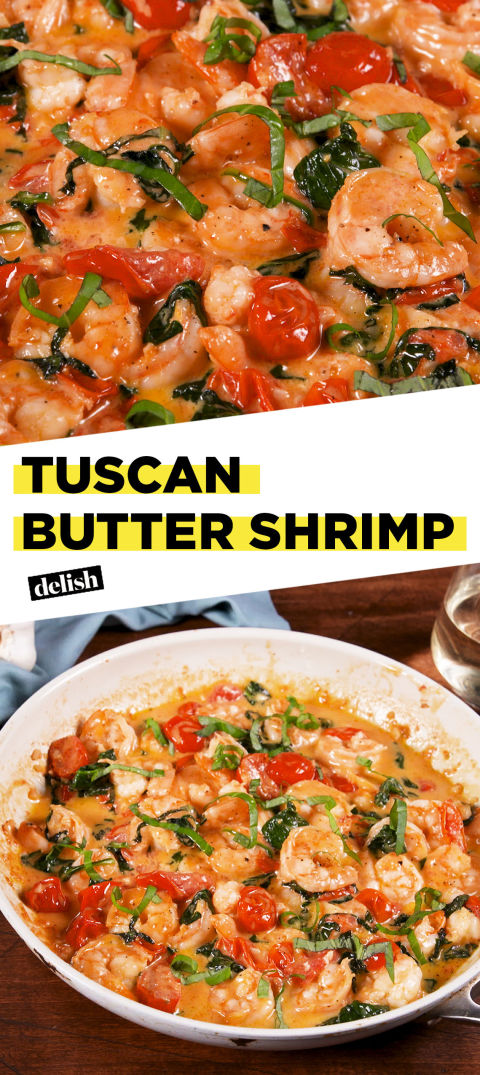 Best Tuscan Butter Shrimp Recipe How To Make Tuscan