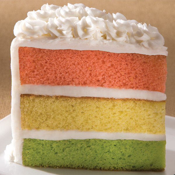 Spumoni Layer Cake Recipe Wilton