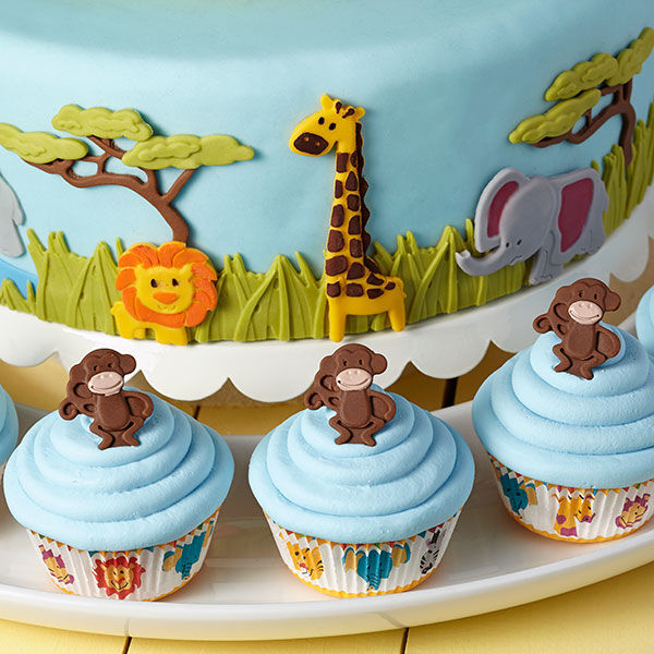 Safari Animal Baby Shower Decorating Ideas