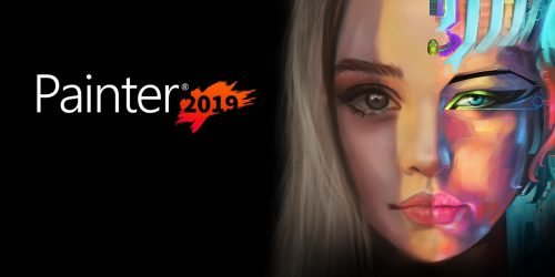 painter2019 og 500x250 - Corel Painter 2019 - Digital Art and Painting Software