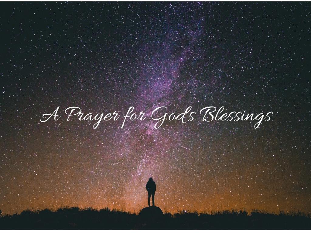 A Prayer for God's Blessings
