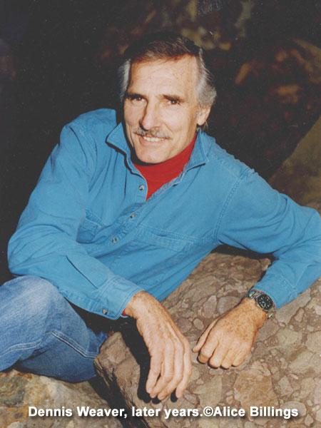Dennis Weaver Official Website Of Actor Dennis Weaver 174
