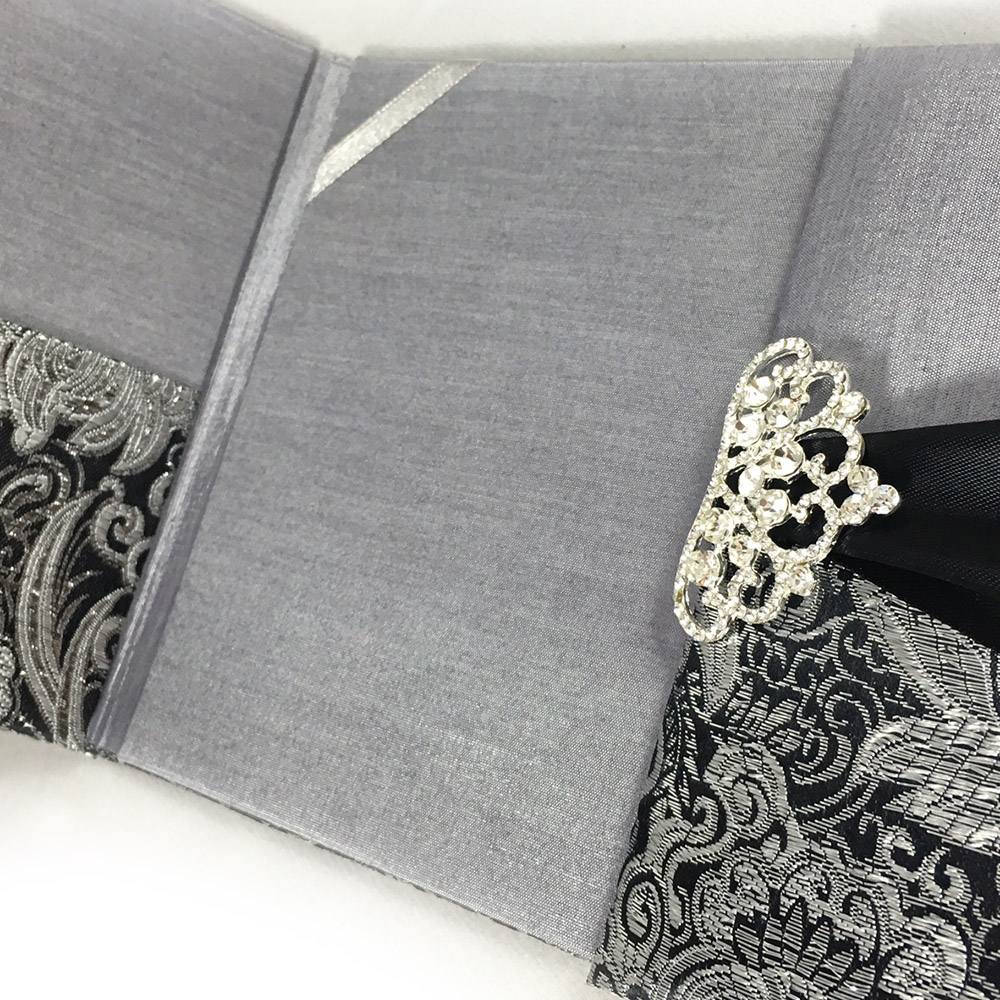 Silver Metallic Handbags