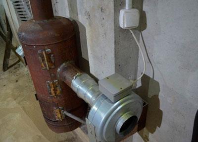 Egy régi sütőhenger használatával