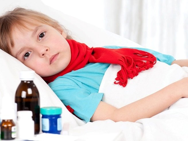 Dry cough treatment in children
