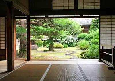 Traditionelles japanisches Wohnhaus - Besonderheiten