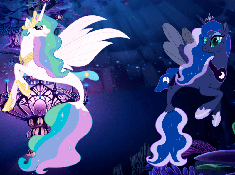 mlp celestia and luna parents - 800×598