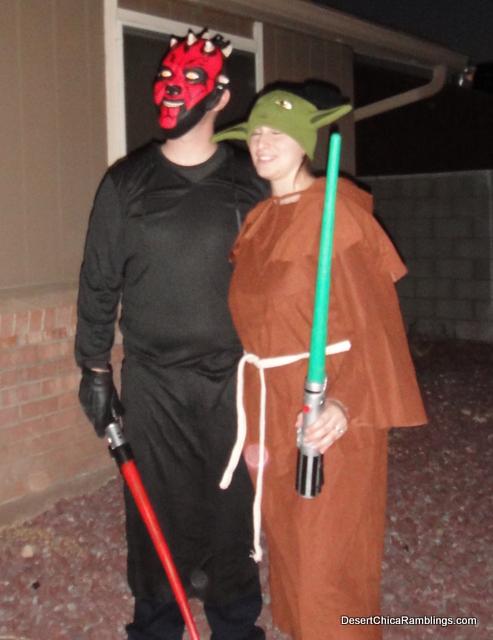 Darth Maul and Yoda Costume