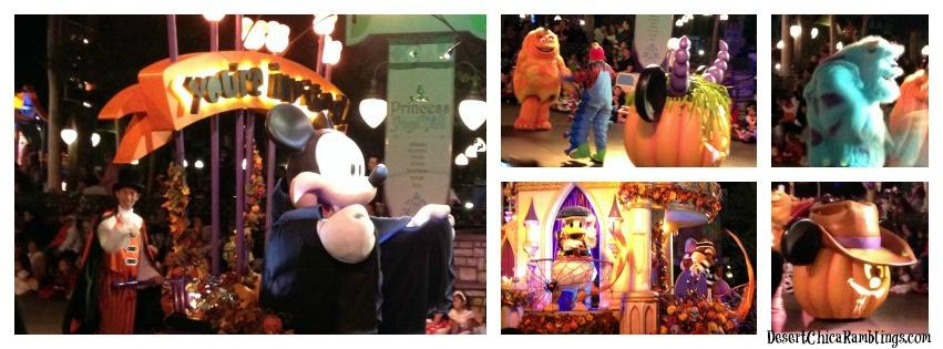 Mickeys Halloween Party Parade Disneyland