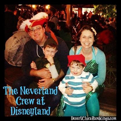 Neverland Crew at Disneyland