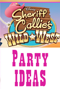 Sheriff Callie Party Ideas