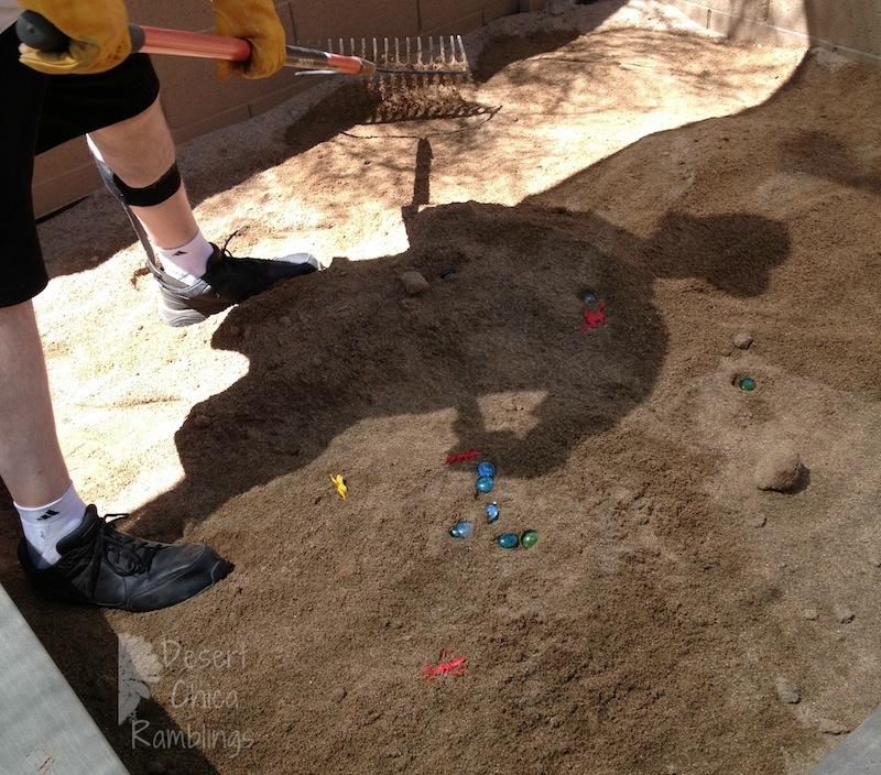 Sandbox Treasure Hunt Finding