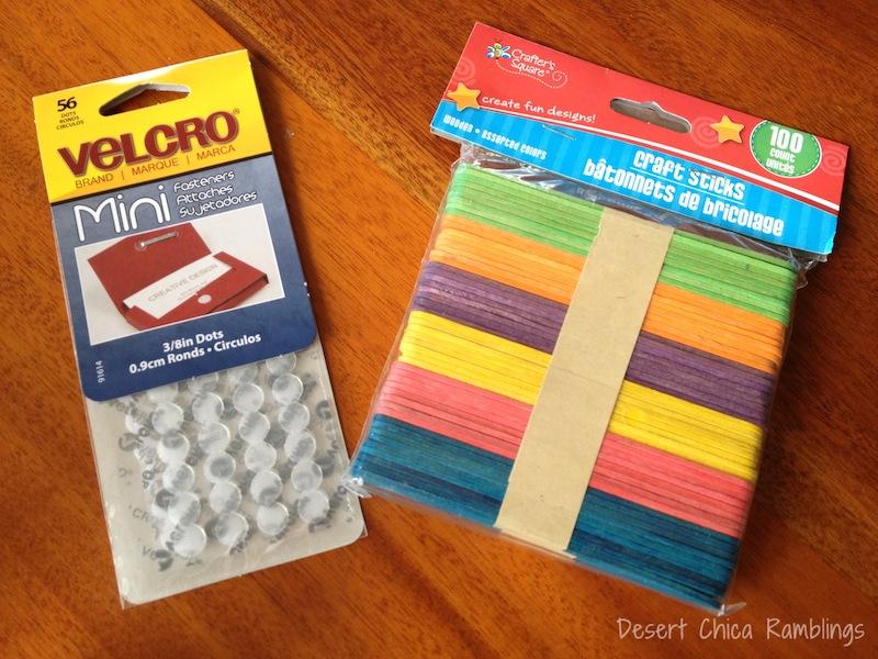 Velcro Craft Sticks Supplies