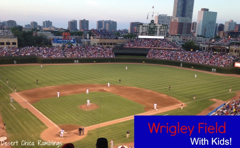 Wrigley Field With Kids