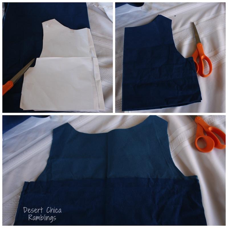 Cut vest template