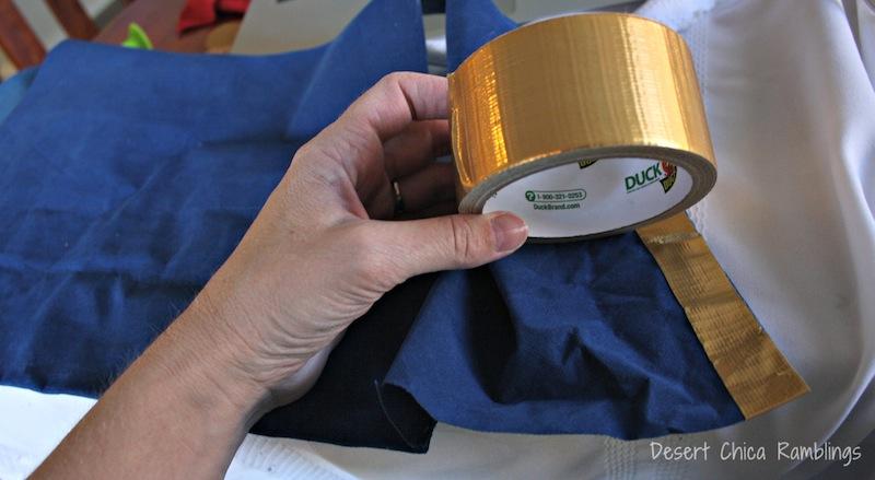 Gold Duct Tape Jake Vest
