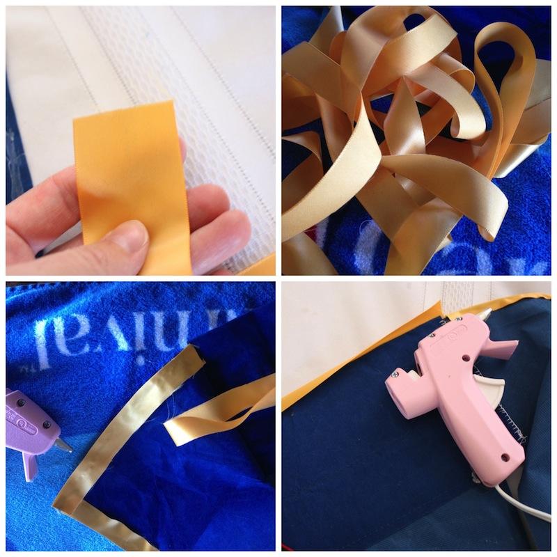 Ribbon edging